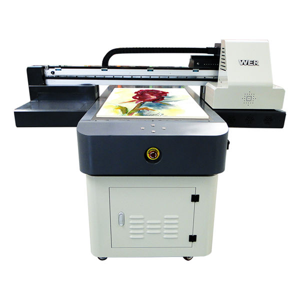 6090 led uv printer price with custom design