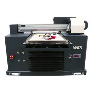 high quality digital flatbed t-shirt dtg a3 printer for black garments printing