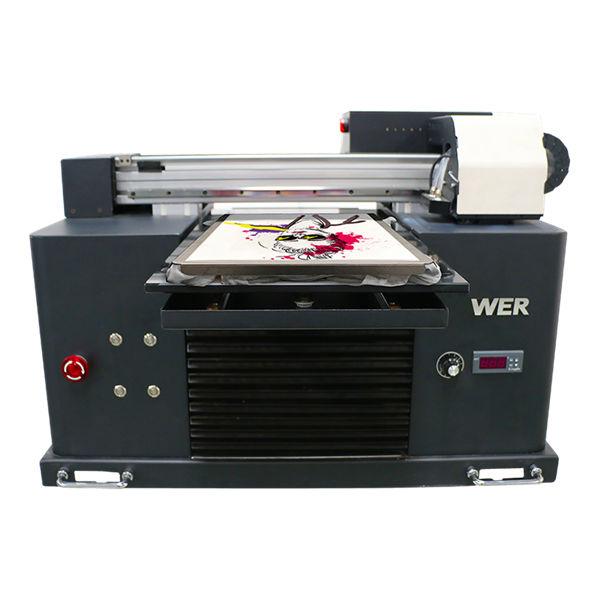 high quality digital flatbed t-shirt dtg a3 printer for black garments printing