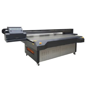 4×8 feet uv led flatbed printer with konica & ricoh print-head
