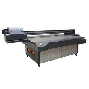 4×8 feet uv led flatbed printer with konica & ricoh print-head