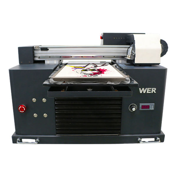 high quality and low price eco solvent flatbed printer cheap price/digital flatbed t-shirt printer