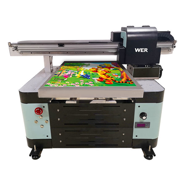 A2 size uv flatbed printer for metal/phone case/glass/pen/mug
