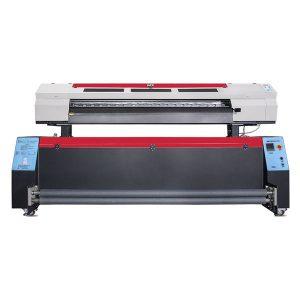 Large format textile dye sublimation printers for fabrics