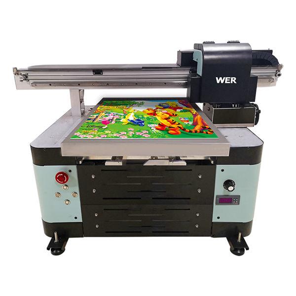12 colors inkjet a2 automatic tx6090 uv printer flatbed printer