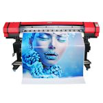 wide format 6 colors flexo banner sticker solvent inkjet printer