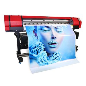 full color eco solvent wide format inkjet label printer printer