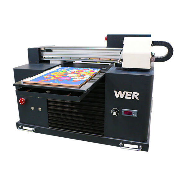 inkjet printing machine led flatbed uv printer for a3 a4 size