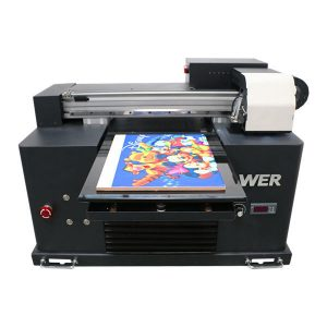 2019 new dx5 head flatbed printer a3 size uv led printing machine