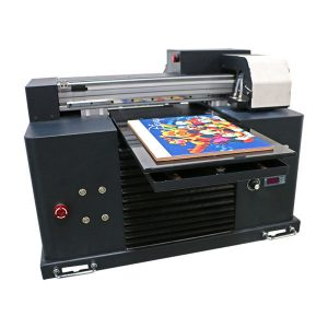 inkjet printing machine led flatbed uv printer for a3 a4 size
