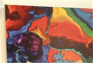 Canvas printing sample of WER-E2000UV