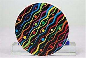 Ceramic printing samples from Rioch head uv WER-G2513UV