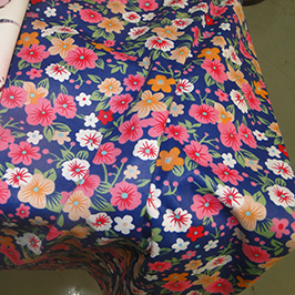 Digital textile printing sample 1 by digital textile printer WER-EP7880T