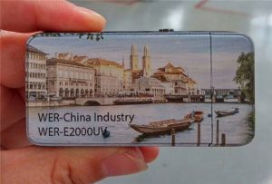 Electric Lighter was printed by A3 size small uv printer -WER-E2000UV