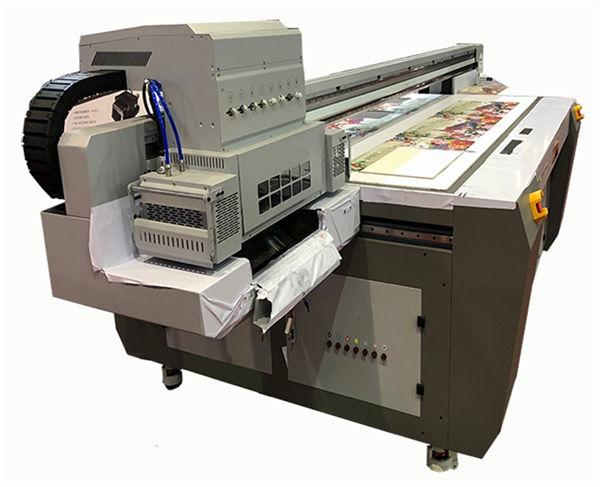 multicolor digital ceramic printer Xaar 1201 head flat bed uv printer