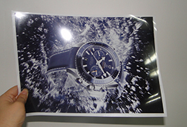 Lamp piece printed by 3.2m (10 feet) eco solvent printer WER-ES3202 2