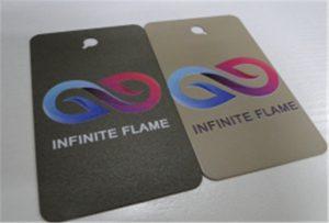 Metal printing sample on A1 UV printing machine WER-EP6090UV