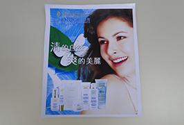 PVC banner printed by 3.2m (10 feet) eco solvent printer WER-ES3201 3