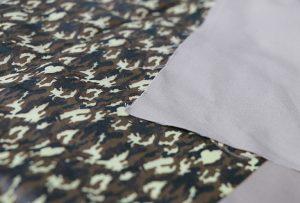 Textile printing sample 1 by digital textile printng machine WER-EP7880T