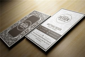 Wooden name card printed by A1 uv WER-EP6090UV