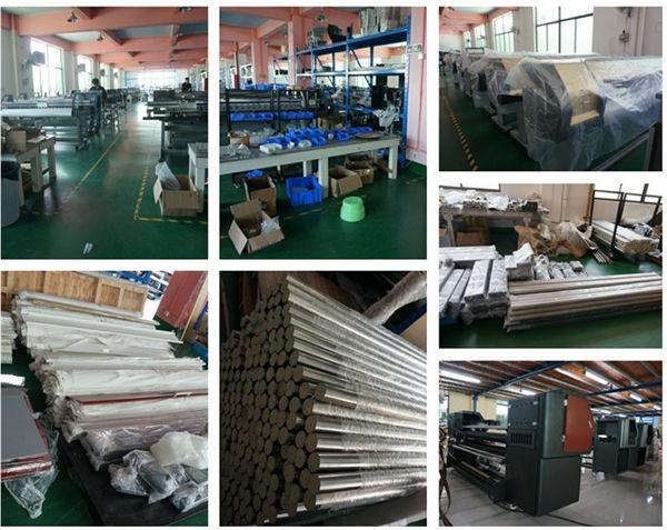 Factory of digital plotters